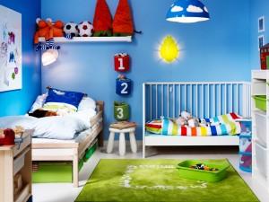 vaiko kambarys