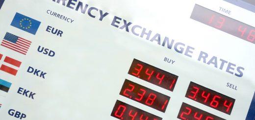 Valiutu kursai bankuose